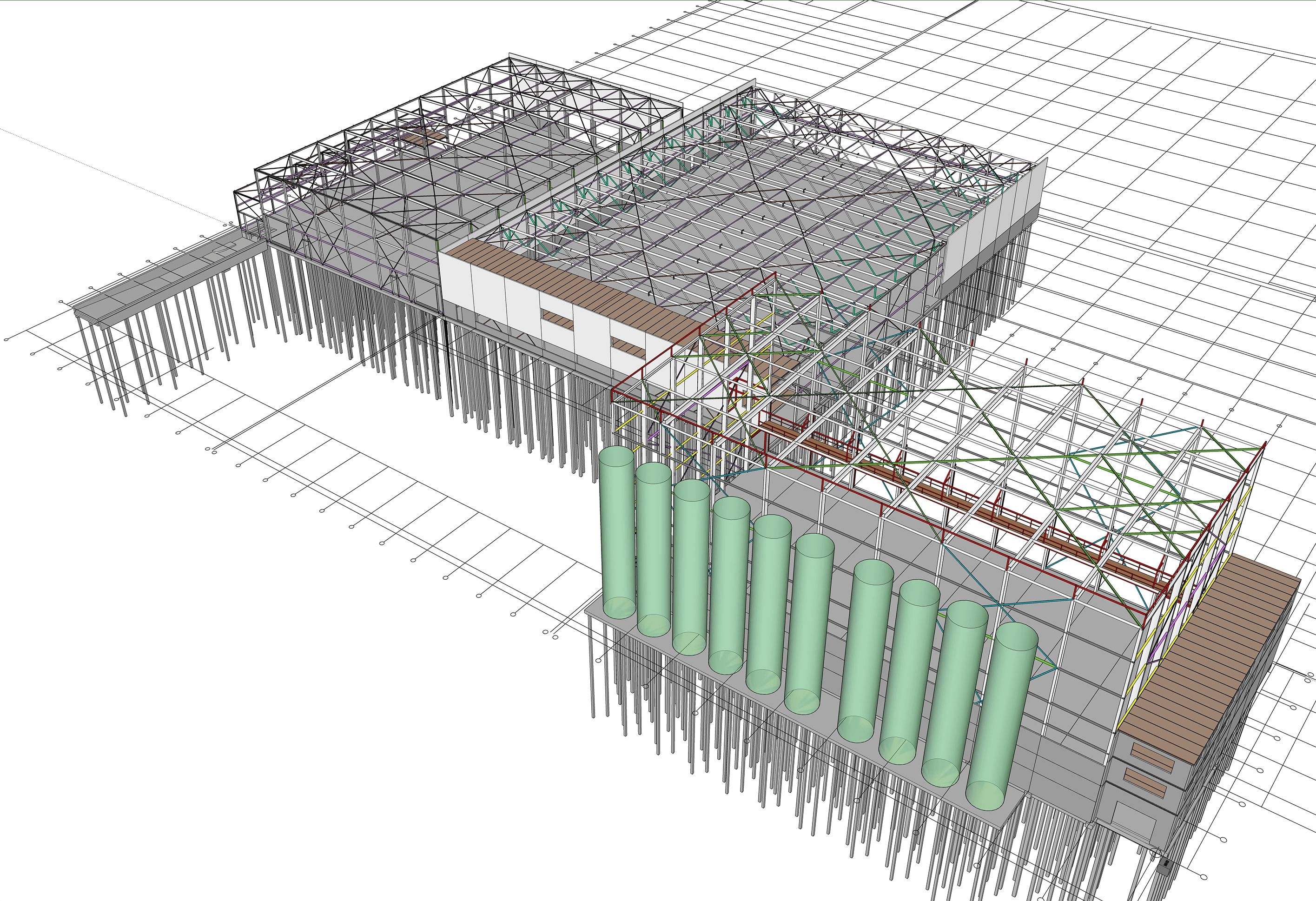 Uitbreiding Oerlemans Giessen Constructie